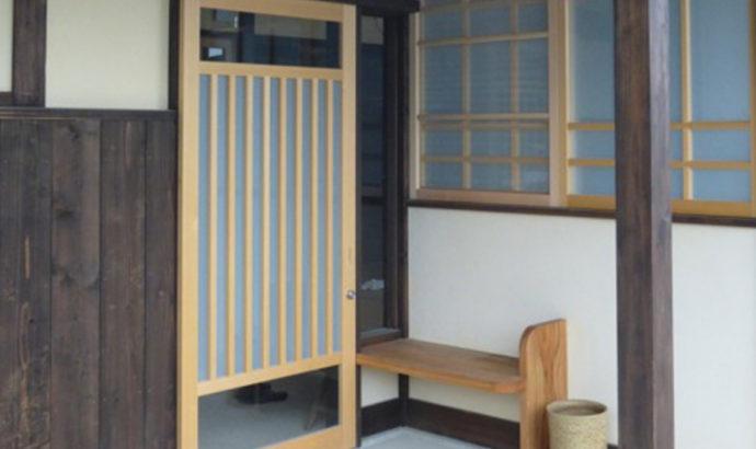 新築・K邸の玄関
