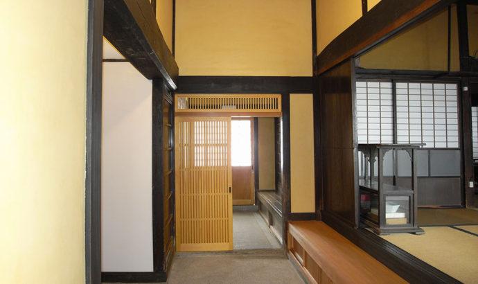 登録有形文化財<桜井市・廊坊家住宅主屋>
