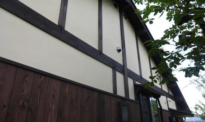 新築・K邸の外壁